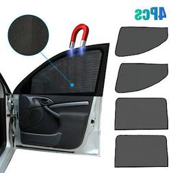 4X Magnetic Car Side Front Rear Window Sun Shade Cover Mesh