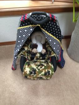 Baby Car Seat Canopy, baby infants carseat canopy fit standa