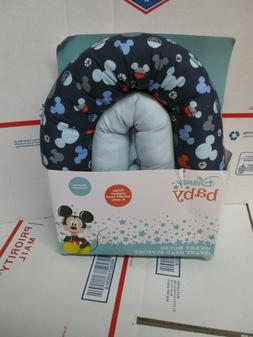 DISNEY BABY MICKEY MOUSE INFANT HEAD & NECK SUPPORT NEW FAST