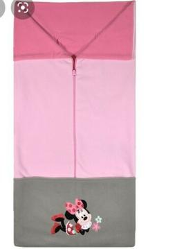 DISNEY BABY MINNIE MOUSE CARSEAT STROLLER COVER FLEECE BLANK