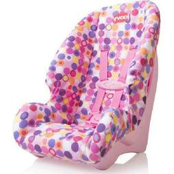 Joovy Baby Doll Toy Booster Car Seat Accessory, Pink