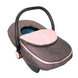 Infant Car Seat Cover Weather Resistant Canopy Baby Car Warm