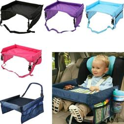 Kid Travel Tray Car Seat Play Table Board for Snack Waterpro