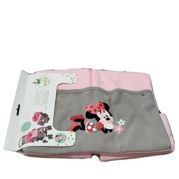 NEW DISNEY BABY MINNIE MOUSE CARSEAT STROLLER COVER FLEECE B