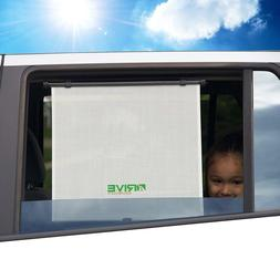 """Drive Auto Products Car Window Shade 2 Pack 17"""" X 17"""" White"""